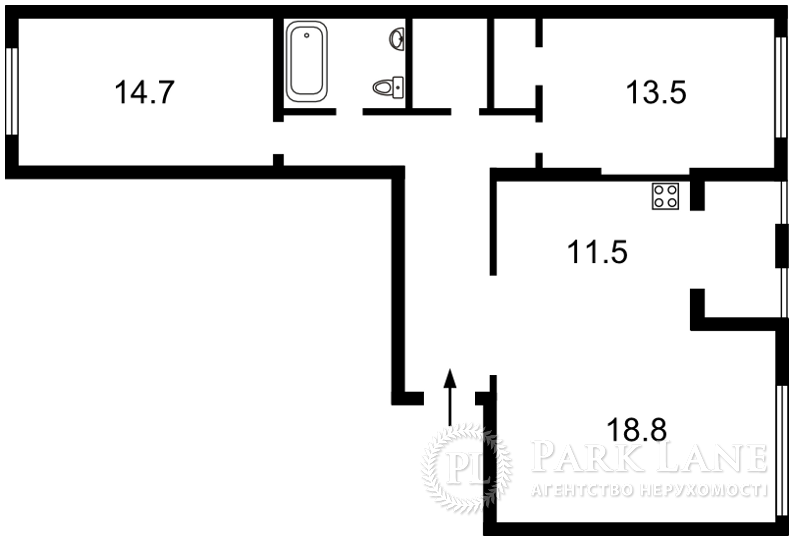 Квартира ул. Регенераторная, 4 корпус 4, Киев, J-23104 - Фото 2