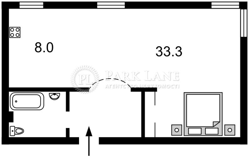 Квартира ул. Грушевского Михаила, 28/2, Киев, C-88551 - Фото 2