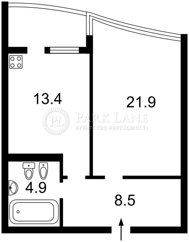 Квартира ул. Вышгородская, 45, Киев, F-29253 - Фото 2