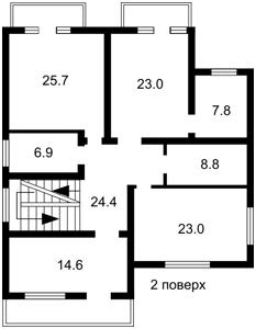 Дом Z-380069, Ворзельская, Ворзель - Фото 6