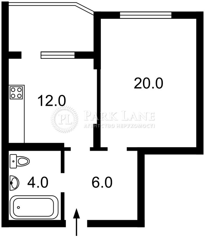 Квартира ул. Воскресенская, 16в, Киев, R-26188 - Фото 2