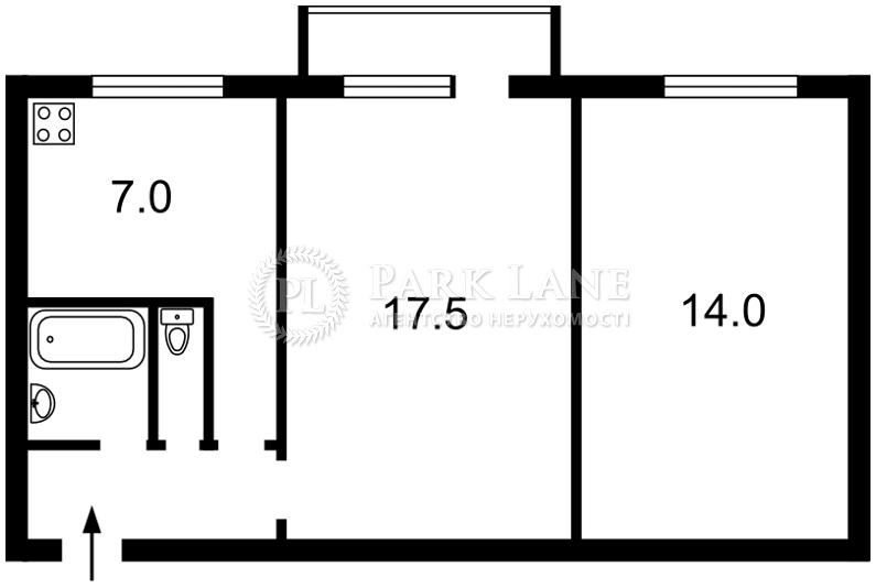 Квартира вул. Курнатовського, 17б, Київ, E-13926 - Фото 2