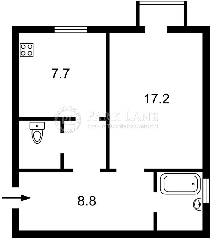 Квартира ул. Ярославов Вал, 8, Киев, J-27692 - Фото 2