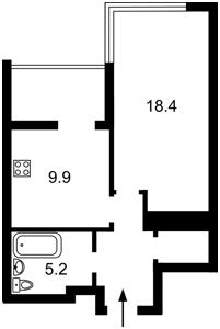 Квартира N-21032, Маккейна Джона (Кудрі Івана), 7, Київ - Фото 5