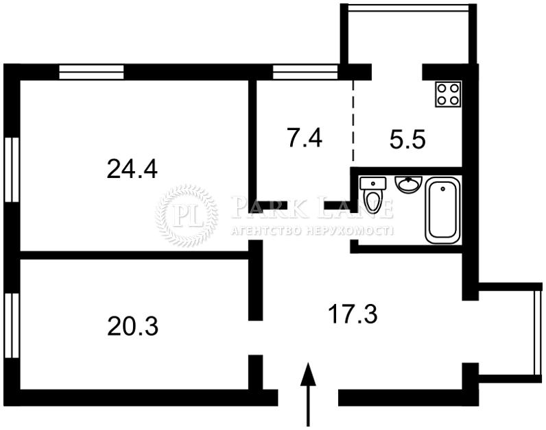 Квартира ул. Институтская, 19в, Киев, R-27204 - Фото 2