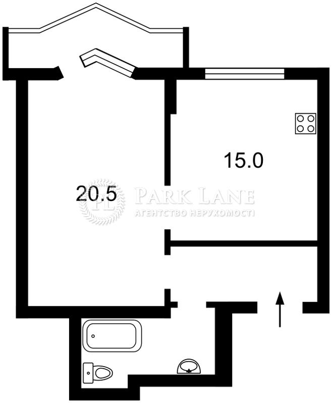 Квартира ул. Липкивского Василия (Урицкого), 18, Киев, Z-1259062 - Фото 2