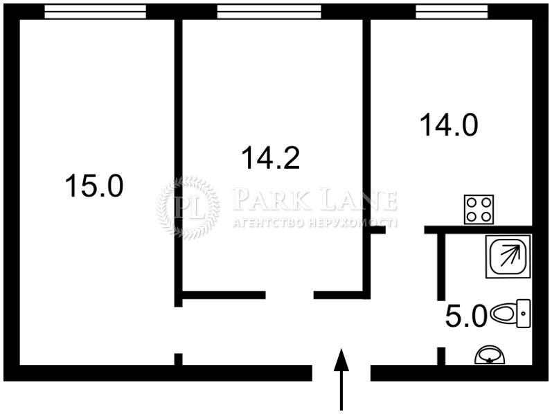 Квартира ул. Рейтарская, 31/16, Киев, Z-563756 - Фото 2