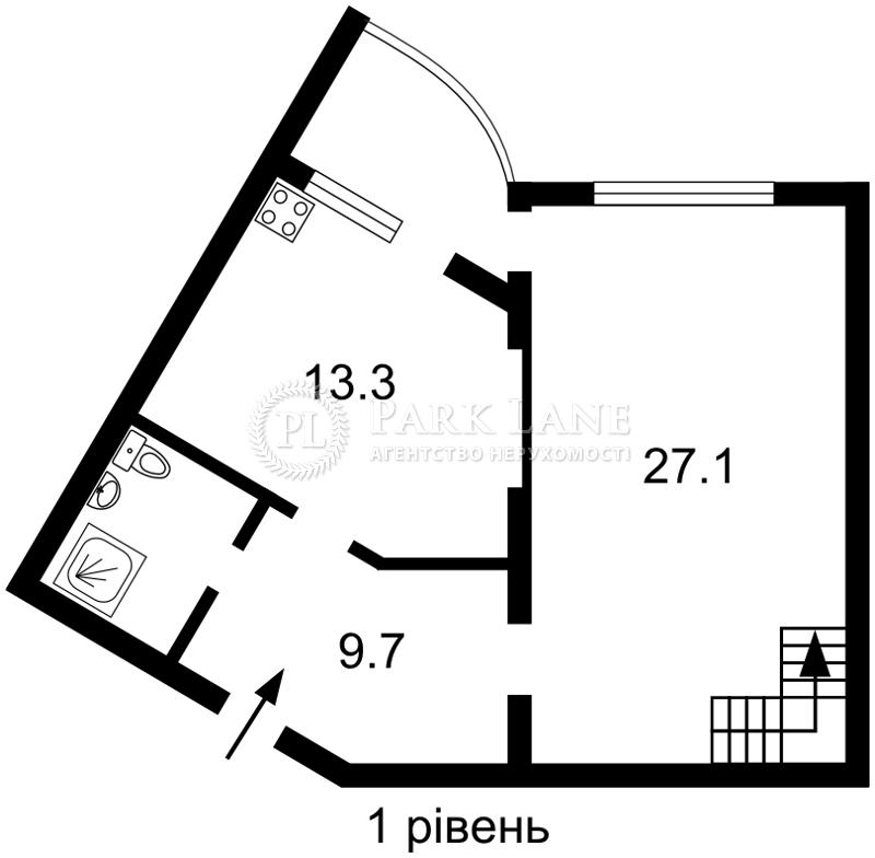 Квартира ул. Оболонская набережная, 3, Киев, Z-546008 - Фото 2