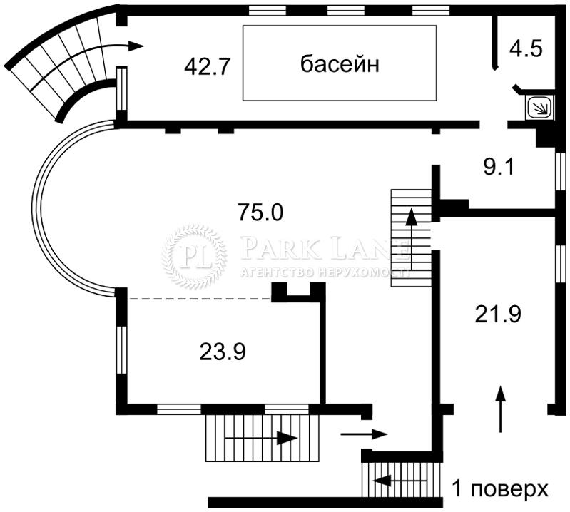 Дом I-30158, Полевая, Гатное - Фото 4