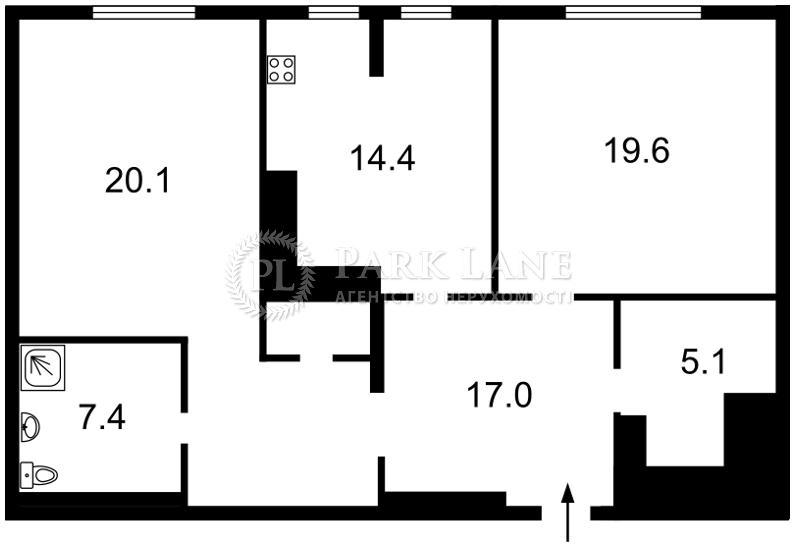 Квартира I-30166, Коновальця Євгена (Щорса), 44а, Київ - Фото 6