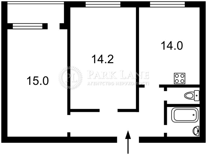 Квартира ул. Рейтарская, 31/16, Киев, C-79412 - Фото 2