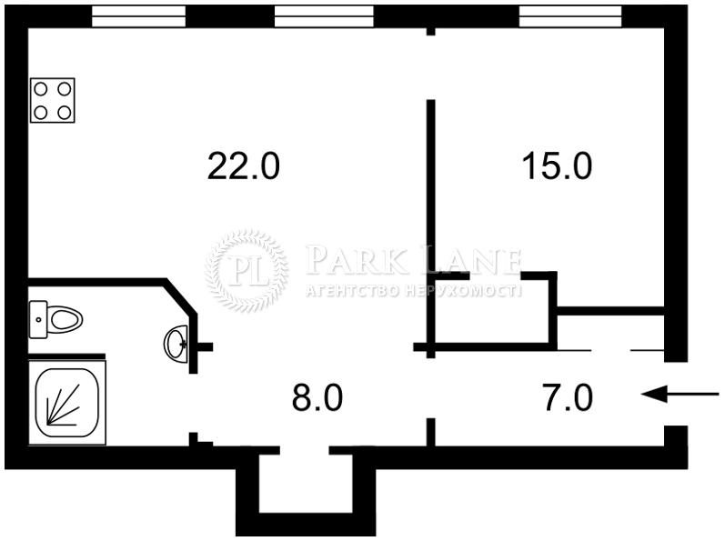 Квартира ул. Гоголевская, 39а, Киев, I-30064 - Фото 2