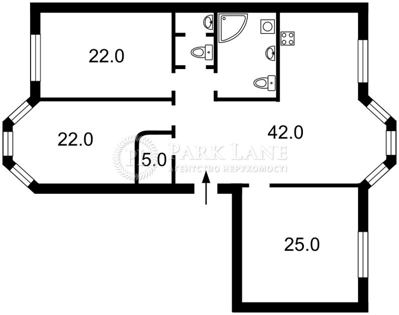 Квартира ул. Дьяченко, 20а, Киев, Z-372977 - Фото 2