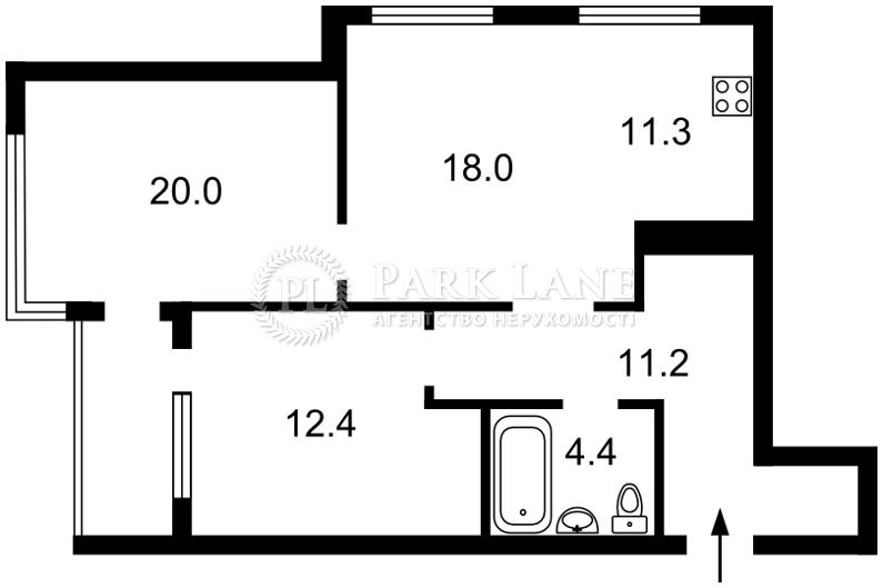 Квартира B-100313, Зарічна, 3а, Київ - Фото 5