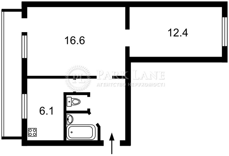 Квартира ул. Молодогвардейская, 12, Киев, L-26635 - Фото 2