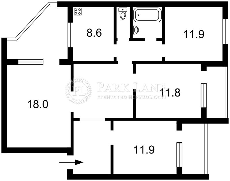 Квартира Z-183104, Лаврухіна, 15/46, Київ - Фото 4