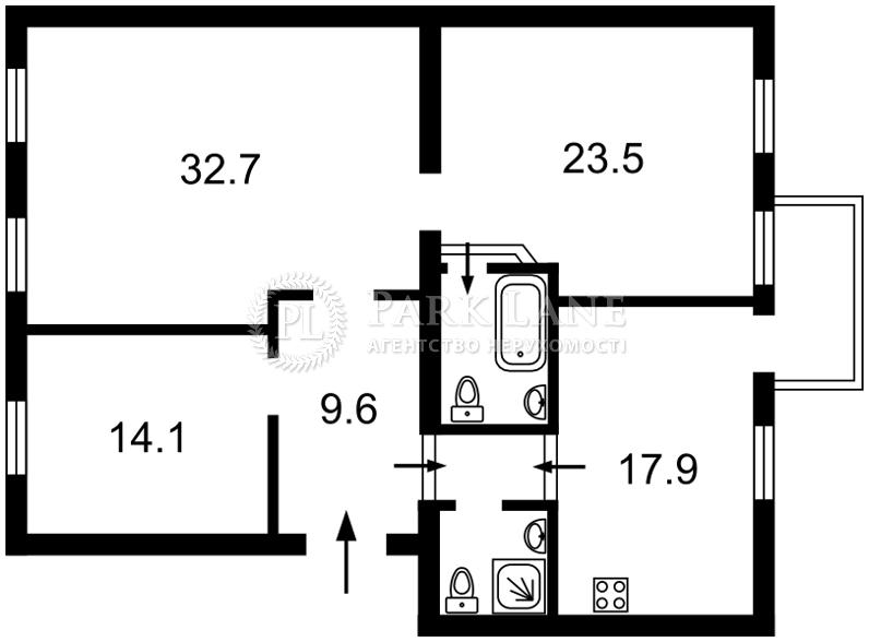 Квартира ул. Хмельницкого Богдана, 78, Киев, R-27584 - Фото 2