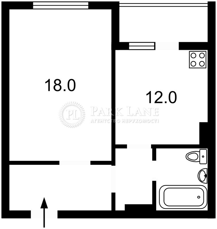 Квартира ул. Ващенко Григория, 1, Киев, Z-548905 - Фото 2