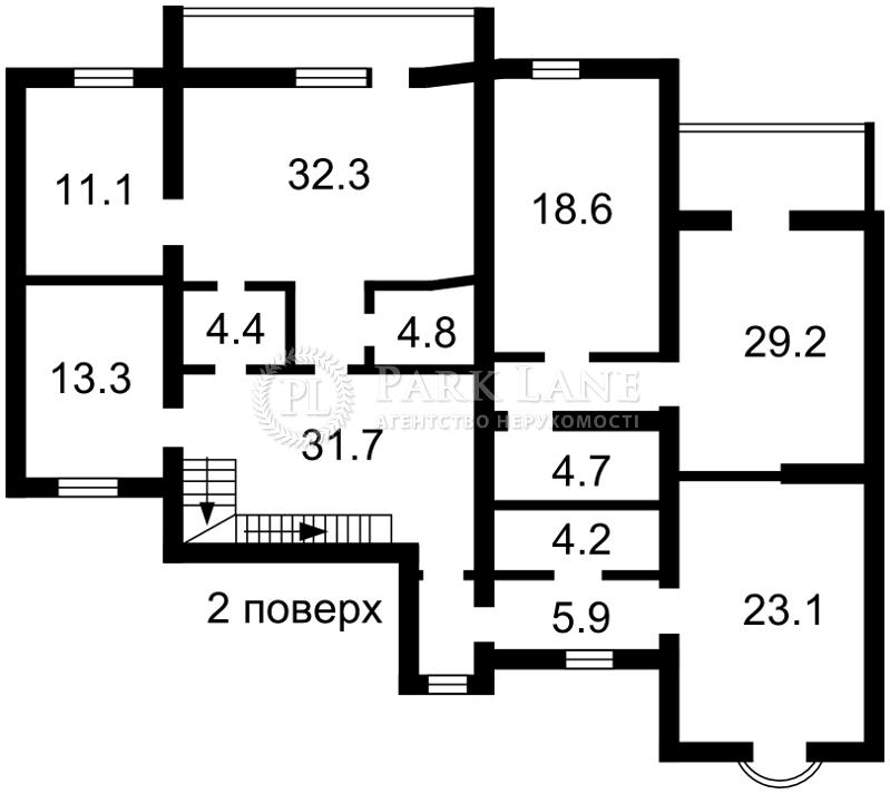 Будинок вул. Сонячна, Лісники (Києво-Святошинський), N-21193 - Фото 4