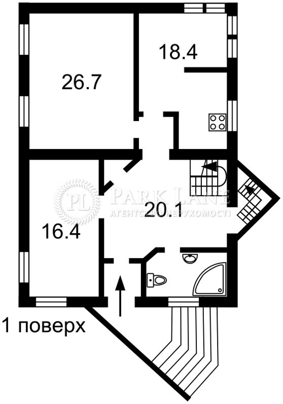 Будинок вул. Риболовецька, Київ, N-21194 - Фото 4