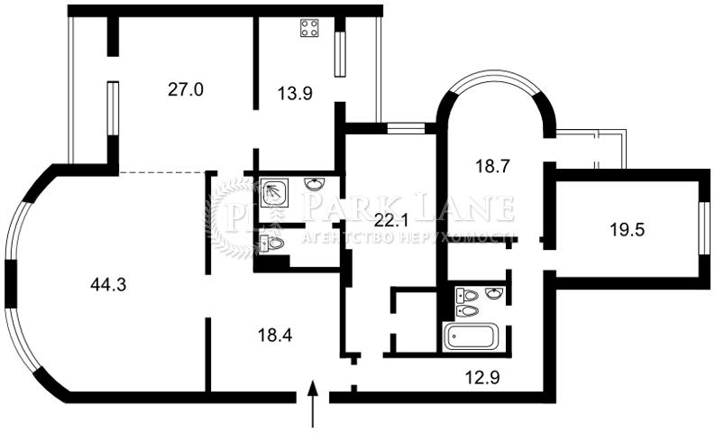 Квартира Шевченко Тараса бульв., 27б, Киев, R-28287 - Фото 2