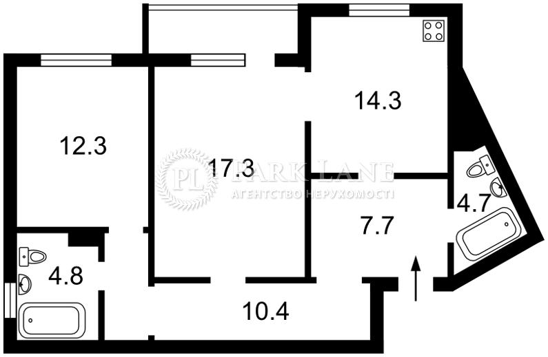 Квартира вул. Урлівська, 17, Київ, R-26026 - Фото 2