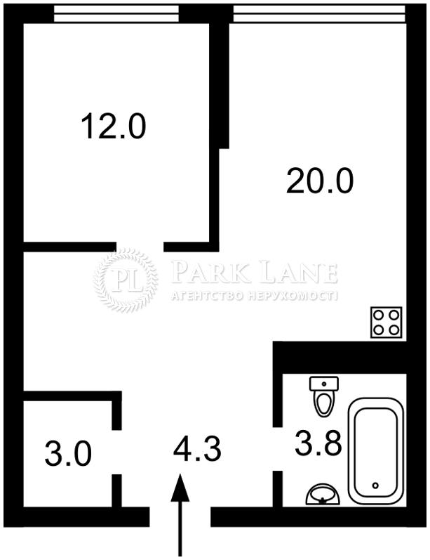 Квартира вул. Бендукідзе Кахи, 2, Київ, I-30274 - Фото 2