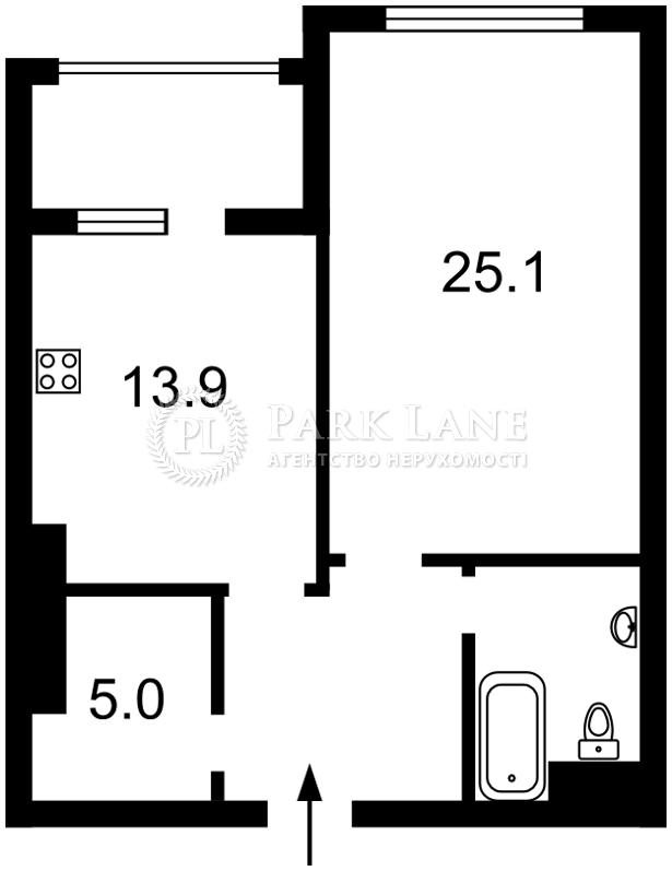 Квартира вул. Драгомирова, 17, Київ, Z-512019 - Фото 2