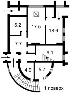 Дом X-34366, Старокиевская, Козин (Конча-Заспа) - Фото 3