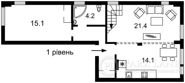 Квартира ул. Регенераторная, 4 корпус 4, Киев, Z-166488 - Фото 2