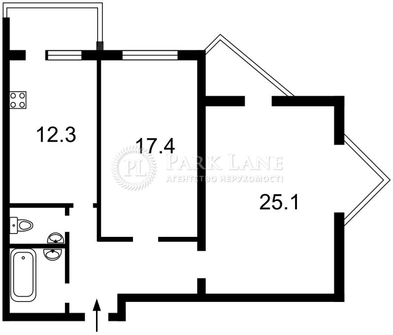 Квартира вул. Котельникова М., 17, Київ, N-7568 - Фото 2