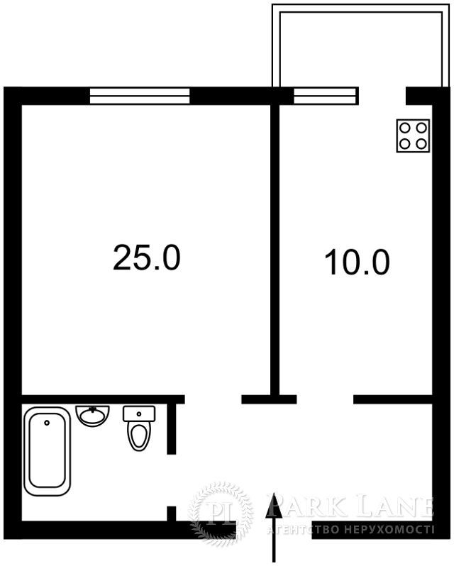 Квартира ул. Рейтарская, 31/16, Киев, X-5762 - Фото 2