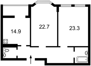 Квартира B-99545, Дегтярная, 21, Киев - Фото 3