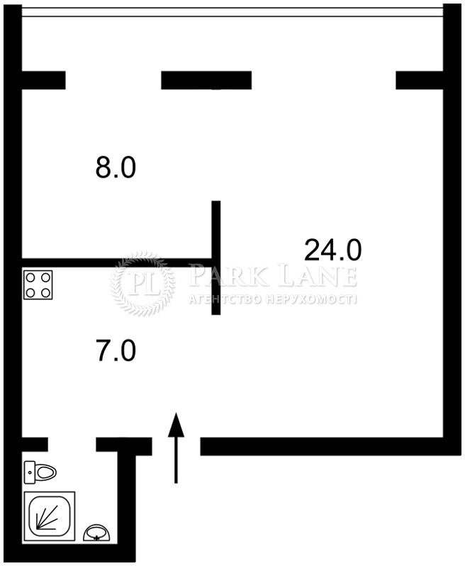 Квартира ул. Ереванская, 13 корпус 1, Киев, N-21339 - Фото 2