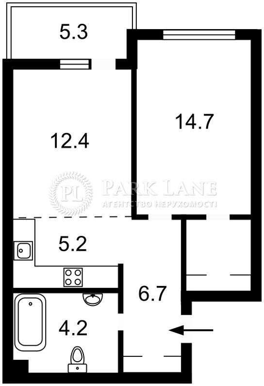 Квартира ул. Джона Маккейна (Кудри Ивана), 7, Киев, B-99493 - Фото 2