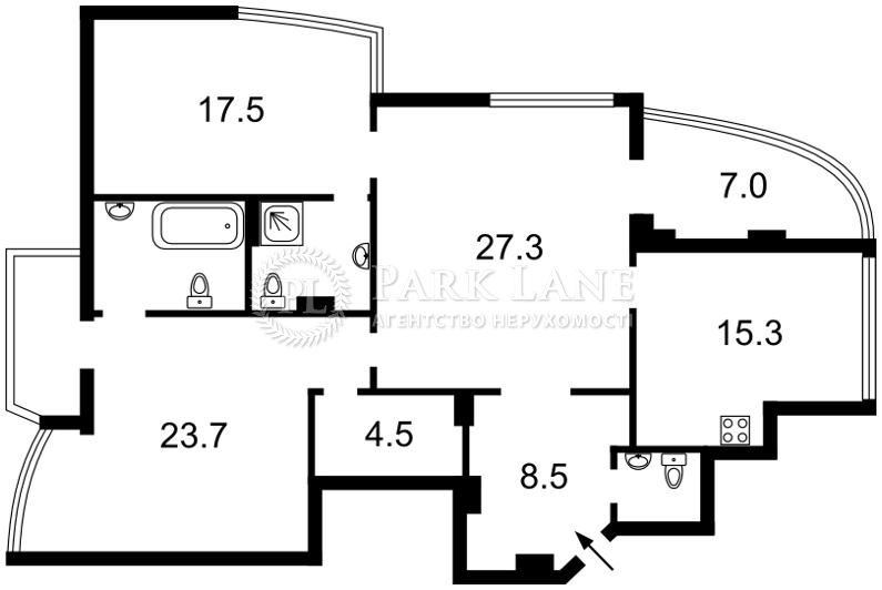 Квартира ул. Сечевых Стрельцов (Артема), 70а, Киев, Z-569486 - Фото 2