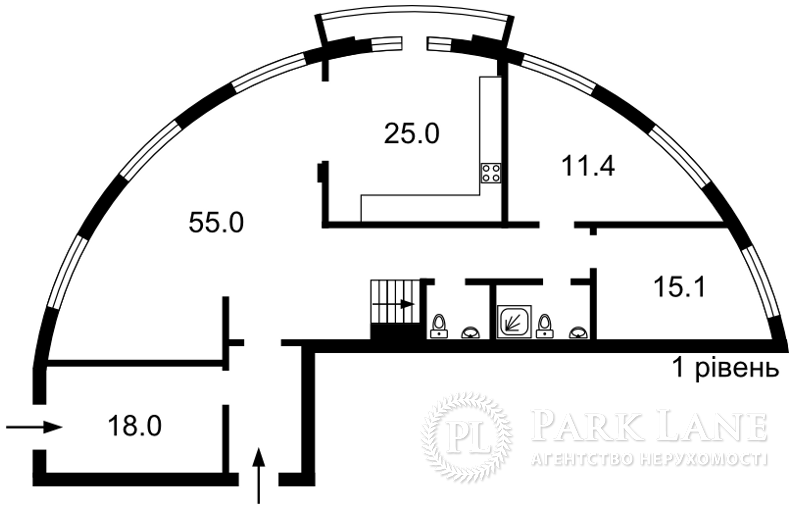 Квартира Несторовский пер., 6, Киев, J-27995 - Фото 2