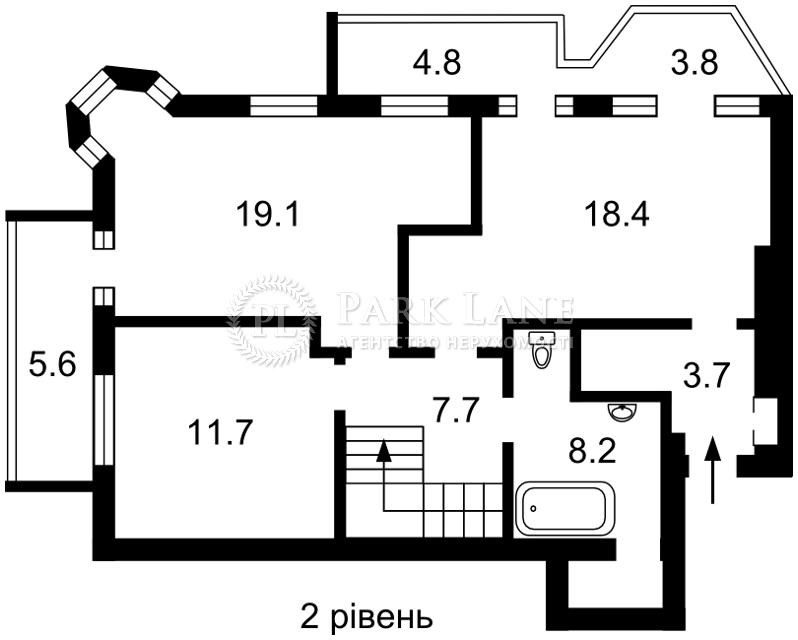 Квартира ул. Саксаганского, 26/26, Киев, Z-625124 - Фото 3