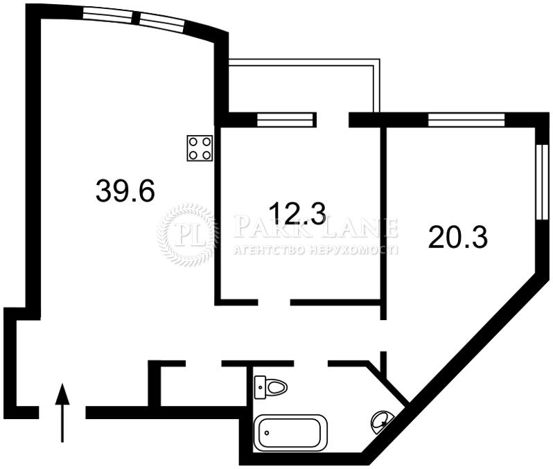 Квартира ул. Голосеевская, 13, Киев, Z-579135 - Фото 2