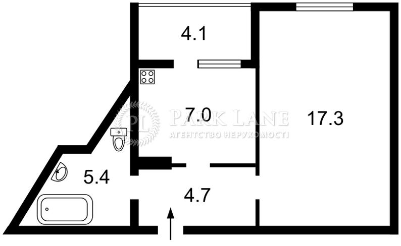 Квартира ул. Чавдар Елизаветы, 34, Киев, Z-116217 - Фото 2