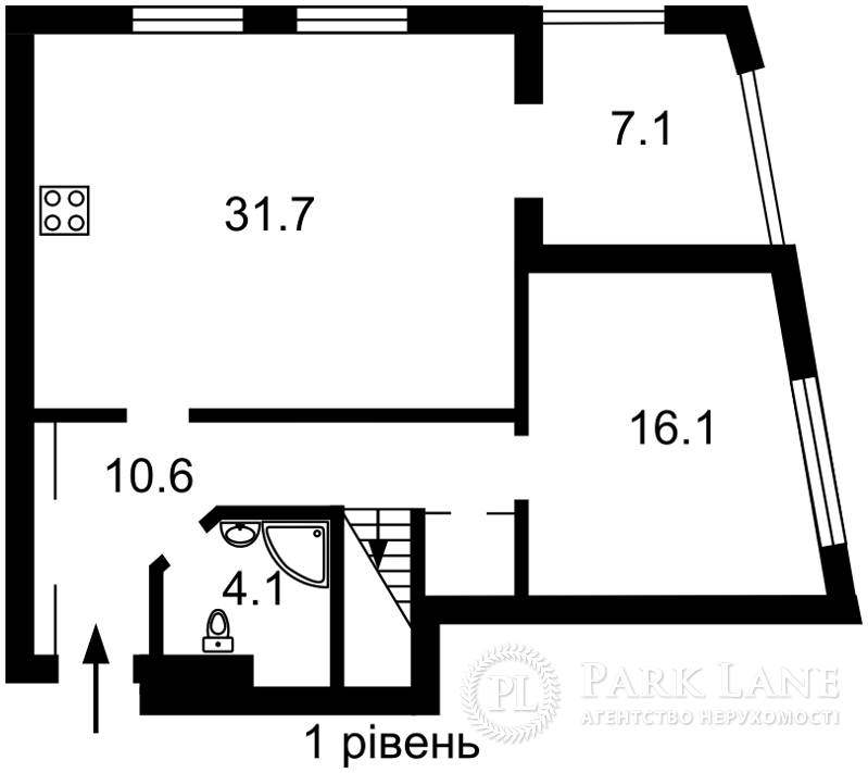 Квартира ул. Жмаченко Генерала, 28б, Киев, P-26788 - Фото 2