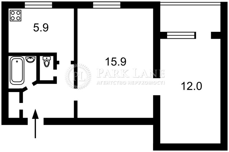 Квартира Леси Украинки бульв., 19, Киев, Z-573515 - Фото 2