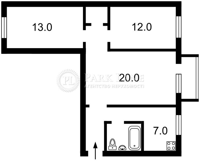 Квартира ул. Гонгадзе (Машиностроительная), 24, Киев, Z-556555 - Фото 2