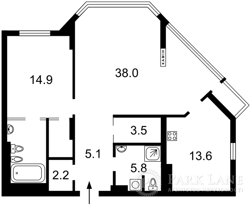 Квартира вул. Болсунівська (Струтинського Сергія), 2, Київ, K-28456 - Фото 2