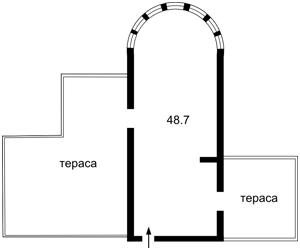 Нежитлове приміщення, B-99657, Микільсько-Слобідська, Київ - Фото 6