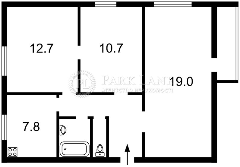 Квартира ул. Джона Маккейна (Кудри Ивана), 20б, Киев, P-4001 - Фото 2