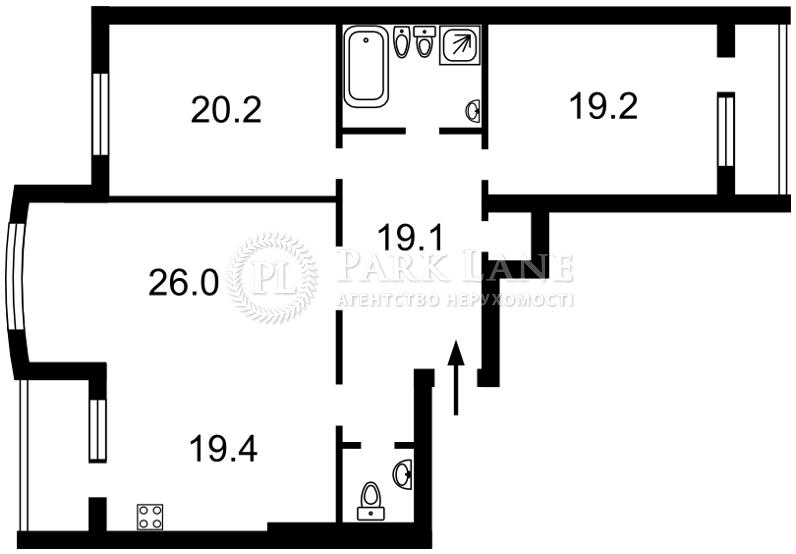 Квартира ул. Голосеевская, 13, Киев, N-21184 - Фото 2