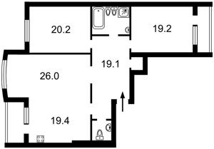 Квартира N-21184, Голосеевская, 13, Киев - Фото 5