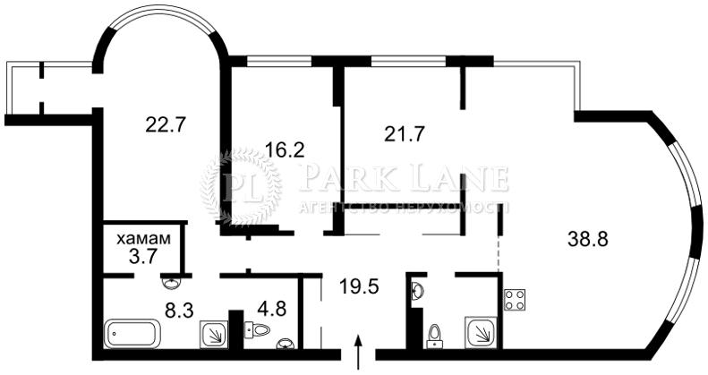 Квартира Шевченко Тараса бульв., 27б, Киев, K-28509 - Фото 2