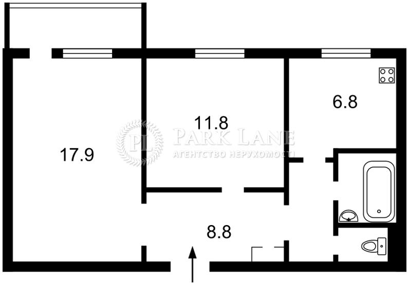Квартира ул. Тимошенко Маршала, 33/35, Киев, Z-581886 - Фото 2